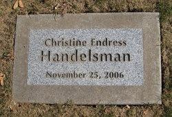 Christine Endress Handelsman