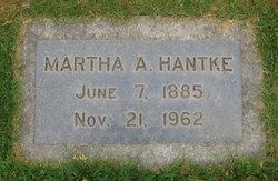 Martha A Hantke