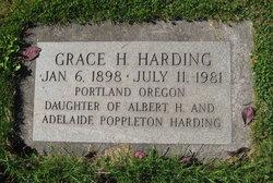 Grace H Harding