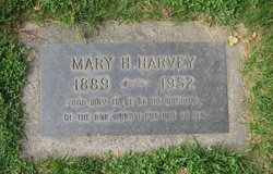 """Marian H """"Mary"""" <I>Keller</I> Harvey"""