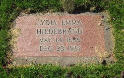 Lydia Emma Hildebrand