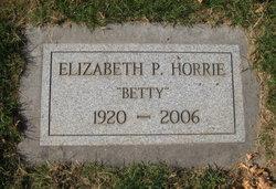 "Elizabeth Pauline ""Betty"" Horrie"