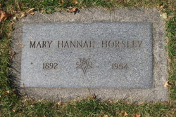 Mary Hannah Horsley