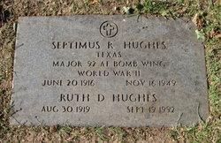 Ruth <I>Dockery</I> Hughes