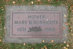 Mary Olive <I>Matheny</I> Hunnicutt