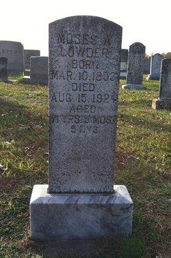 Moses A Lowder