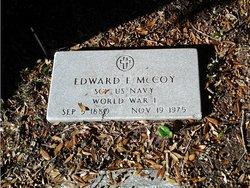 Edward E McCoy