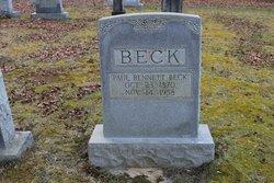 Paul Bennett Beck