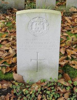 Private Sidney Harold Bambridge