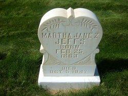 Martha Jane <I>Zabriskie Jeffs</I> Dodge