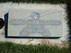 Joseph F Larsen