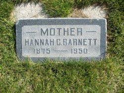Hannah Christina <I>Osterlin</I> Barnett