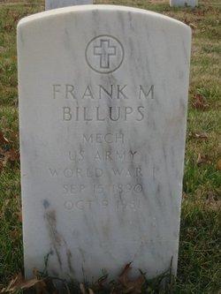 Frank M Billups