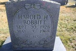 Harold H. Bobbitt