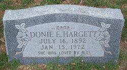 Donie Elizabeth Hargett