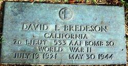 2LT David L Bredeson