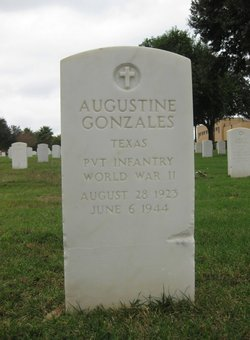 PVT Augustine Gonzales