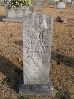 "Sarah Palmer ""Sallie"" <I>Chappell</I> Gillham"