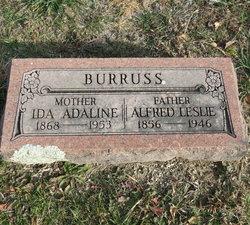 Ida Adeline <I>Schoen</I> Burruss
