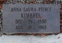 Annie Laura <I>Pierce</I> Kimbrel