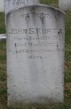 Rev John Shelley Kurtz