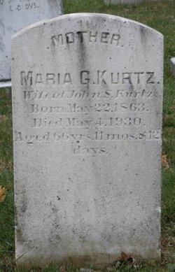 Maria Gehman <I>Horning</I> Kurtz