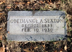 "Obediance Ann ""Biddy"" Sexton"