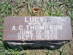 Lucy A <I>Harris</I> Thompson