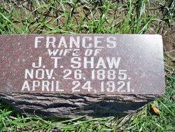 Frances B <I>McClure</I> Shaw