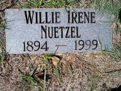 Willie Irene Nuetzel