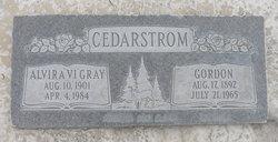 "Alvira ""Vi"" <I>Gray</I> Cedarstrom"