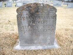 Samantha Ann <I>Farr</I> Oliver