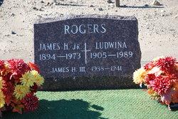 Ludwina <I>Johansen</I> Rogers