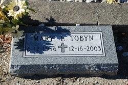 Mary T <I>Rogers</I> Tobyn
