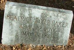 Beatrice <I>Fort</I> Baker