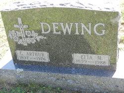 Etta Mae <I>Horton</I> Dewing