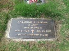 Raymond J Jansma