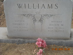 Helen Myrtle <I>Wiley</I> Williams