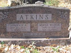Myrtle Maude <I>Wooton</I> Atkins