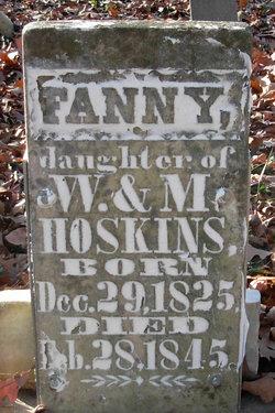 Fanny Hoskins