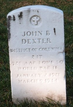 2LT John B Dexter