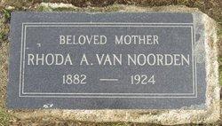 Rhoda A <I>Banister</I> Van Noorden
