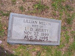 Lillian <I>Melvin</I> Averitt