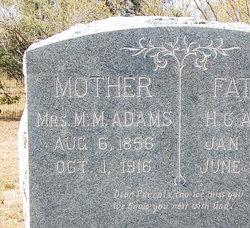 Mildred Mahalia <I>Fisher</I> Adams