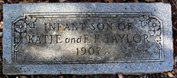 Infant son Taylor