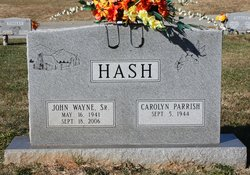 John Wayne Hash, Sr