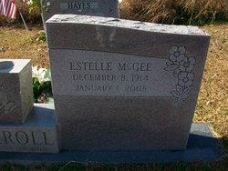 Mrs Estelle Elizabeth <I>McGee</I> Carroll