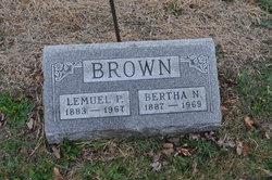 Bertha N <I>Gilpatrick</I> Brown