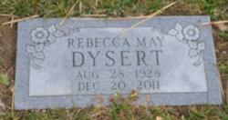 """Rebecca May """"Becky"""" <I>Rupert</I> Dysert"""