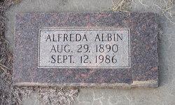 Alfreda <I>Sandstrom</I> Albin